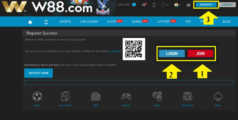 Simple Steps on How to Make a Bookie88 Deposit on W88