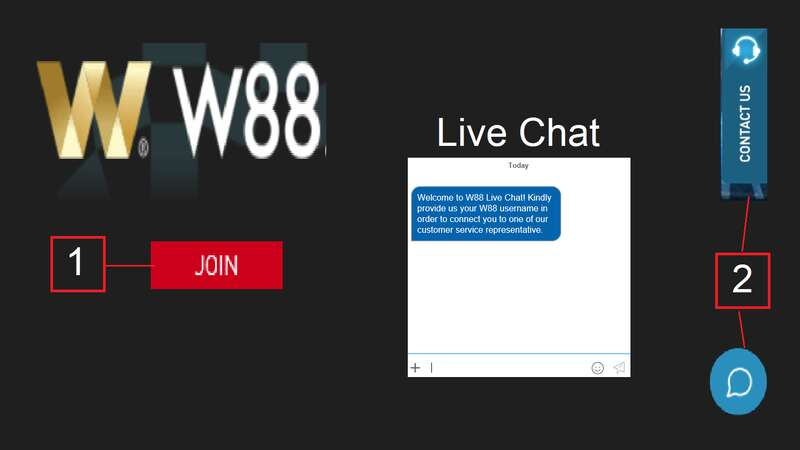 W88 Live Chat Offers Easy-to-Use and Efficient Service