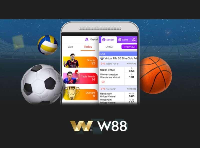 Enjoy W88 Sport Online on Mobile