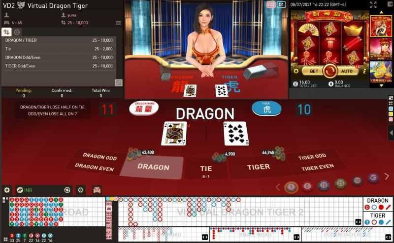 Register Dragon Tiger Live and Earn Big Bonuses - Virtual