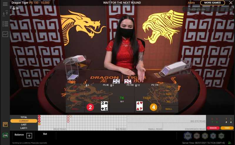 Register Dragon Tiger Live and Earn Big Bonuses