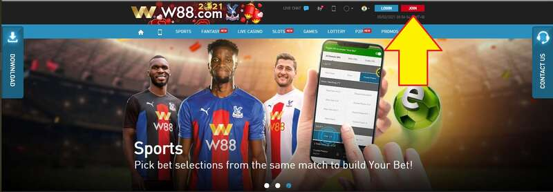 W88 Review - The Registration Process